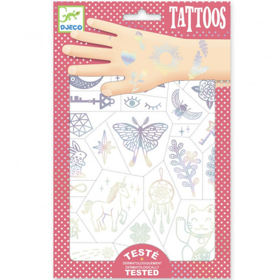 Tatouages 'Lucky charms' DJECO 9596