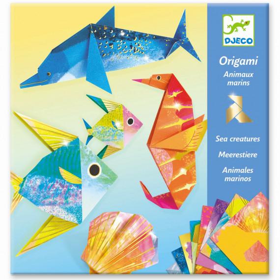 Origami 'Animaux marins' DJECO 8755