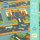 """Puzzle """"Routes"""" Pop to play DJECO 7162"""