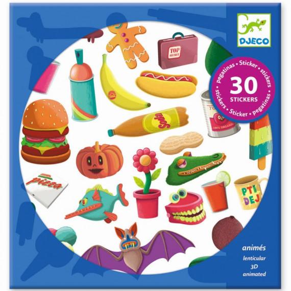 Stickers animés 'Rayons X' DJECO 9267
