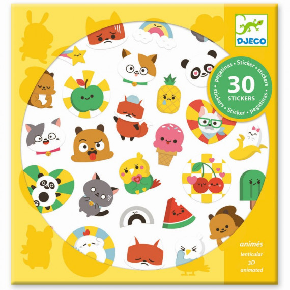 Stickers animés 'Emoji' DJECO 9266