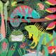 Puzzle qui Brille dans le Noir 'Grenouilles et lézards' 100 pcs Mudpuppy