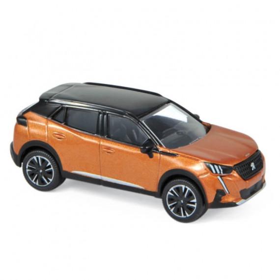 Peugeot 2008 2020 orange, voiture jouet Norev