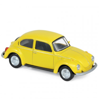 Volkswagen Coccinelle jaune 1973 Norev 1-43ème
