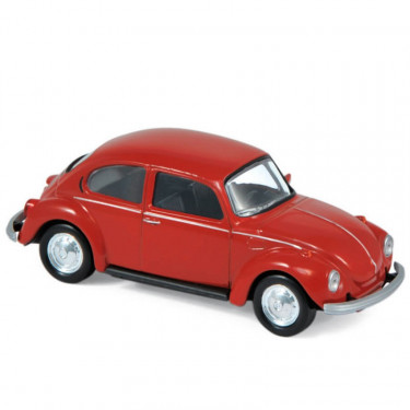 Volkswagen Coccinelle rouge 1973 Norev 1-43ème