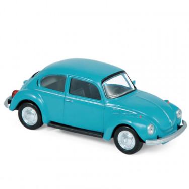 Volkswagen Coccinelle bleue 1973 Norev 1-43ème