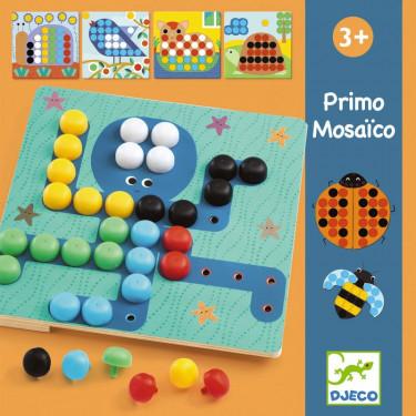 Primo Mosaïco, jeu de mosaïque DJECO 8140