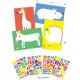 """Créer avec des stickers """"Les grands animaux"""" DJECO 9046"""
