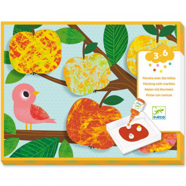 Peindre avec des billes 'Nature multicolore' DJECO 9685