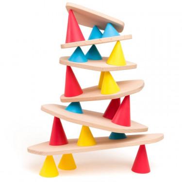 PIKS jeu de construction et d'équilibre - OPPI small kit 24 pièces