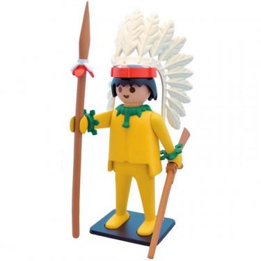 Le chef indien Playmobil Collectoys de Plastoy