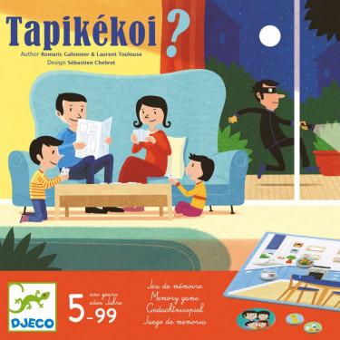 Tapikékoi, jeu de mémoire DJECO 8542