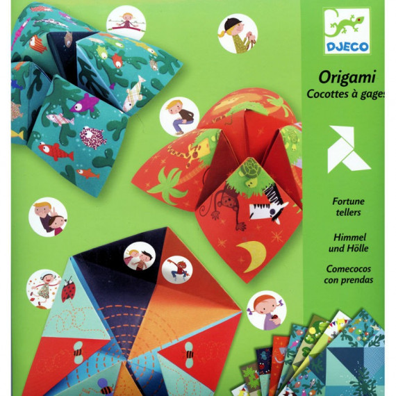 Initiation à l'Origami Salières, loisir créatif DJECO DJO 8764