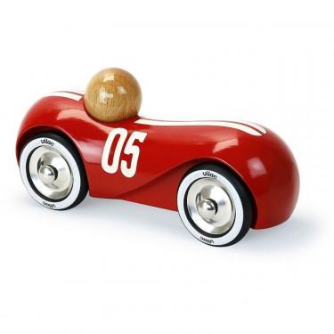 voiture streamline vintage rouge VILAC 2285F