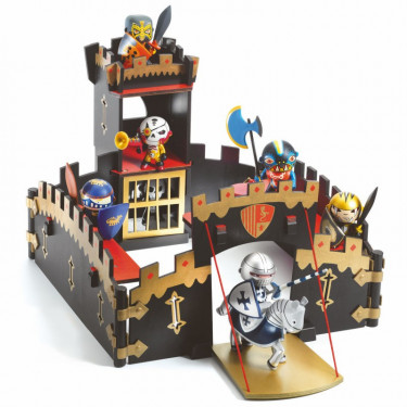 Ze Black Castel, château fort Arty Toys DJECO 6749
