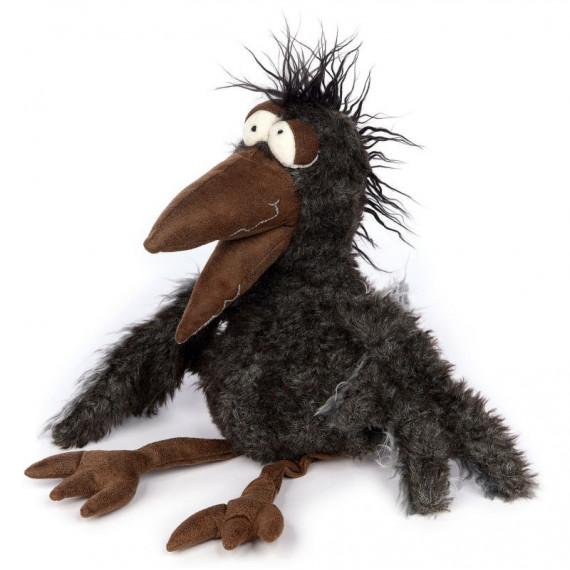 Ricky Raven, corbeau en peluche SIGIKID Beast 39323