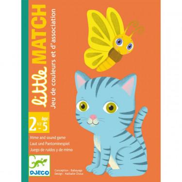 little MATCH jeu de cartes DJECO 5061