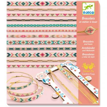 Bracelets et métier à tisser 'Minuscules' DJECO 9838