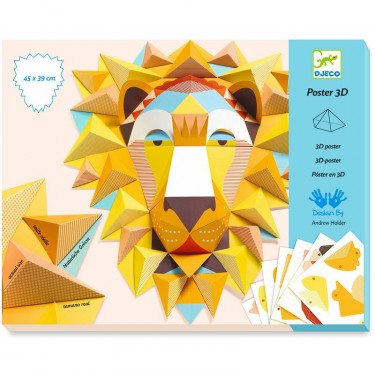 Poster 3D 'The King' DJECO 9447