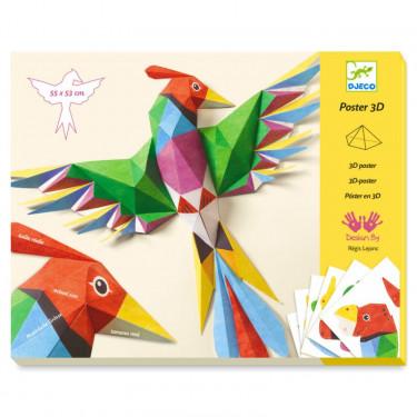 Poster 3D 'Amazonie' DJECO 9448