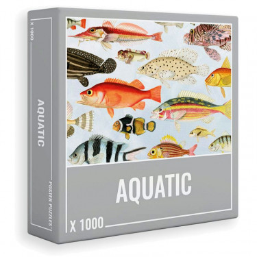 "Puzzle 1000 pièces ""Aquatique"" Cloudberries"