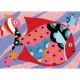 Arcs-en-ciel de poissons, sables colorés DJECO 8661