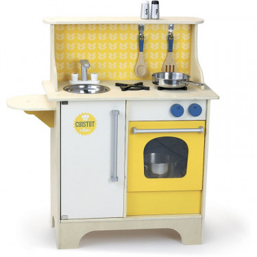 """Cuisine du cuistot """"moutarde"""", jouet en bois VILAC 8121Y"""
