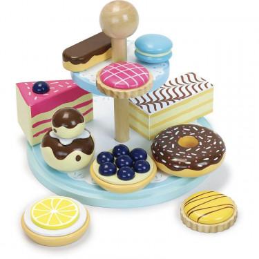 La ronde des desserts, dînette en bois VILAC 8124