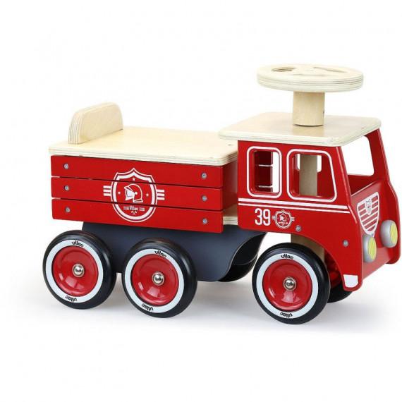 Porteur camion de pompiers Vilac 1126R