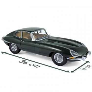 Jaguar Type E 4.2 coupé 1961 - Norev 1-12ème