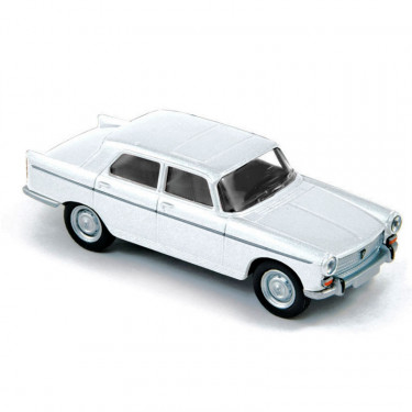 Peugeot 404 1961 blanc Courchevel Norev
