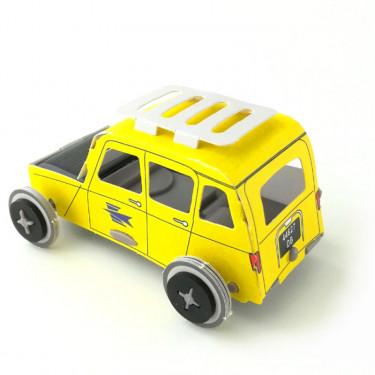 Autogami Renault 4L La Poste, voiture solaire