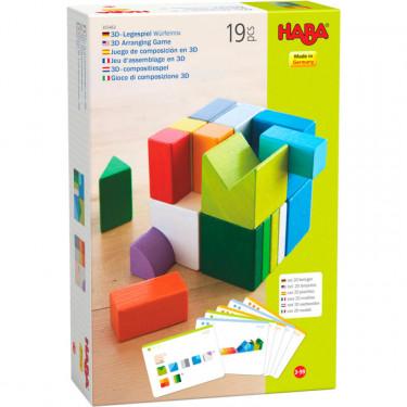 """Jeu d'assemblage en 3D """"Cubes Mix"""" HABA 305463"""