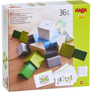 """Jeu d'assemblage en 3D """"Mosaïque Nordic"""" HABA 305461"""