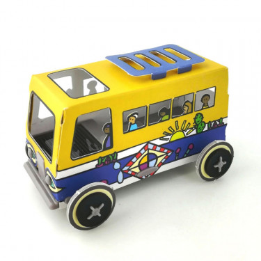 Autogami Bus de Dakar, voiture solaire