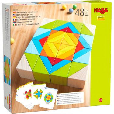 """Jeu d'assemblage en 3D """"Blocs Mosaïque"""" HABA 305459"""