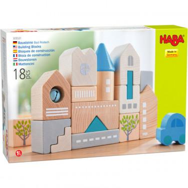 "Blocs de construction en bois ""Bad Rodach"" HABA 305531"