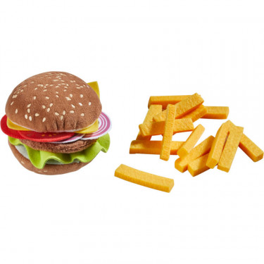 Hamburger avec frites, jouet HABA 305817