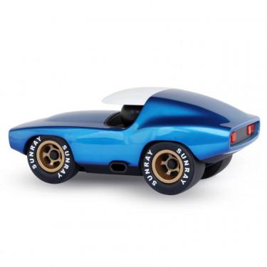 Voiture Playforever Fastback bleu métallisé