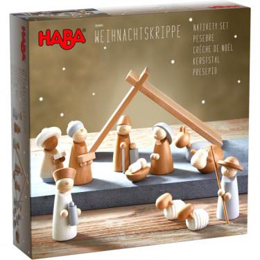 Crèche de Noël en bois HABA 304685