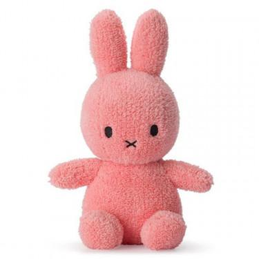 Peluche Miffy lapin extra-doux rose bonbon 23cm