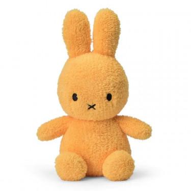 Peluche Miffy lapin extra-doux jaune 23cm