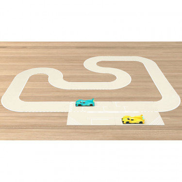 Circuit de course Norev, coffret de routes 18 pcs