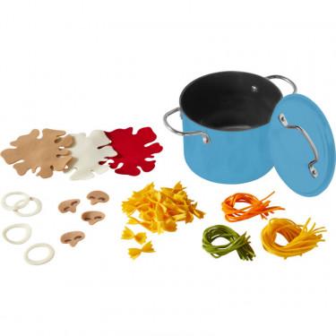 Ensemble de cuisson de pâtes, jouet dînette HABA 305724