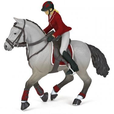 Cheval de concours et sa cavalière PAPO 51563