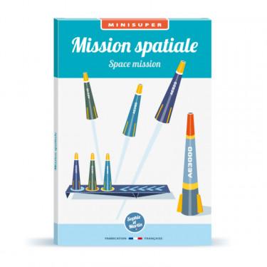 Mission spatiale, kit minisuper 'Sophie et Martin'