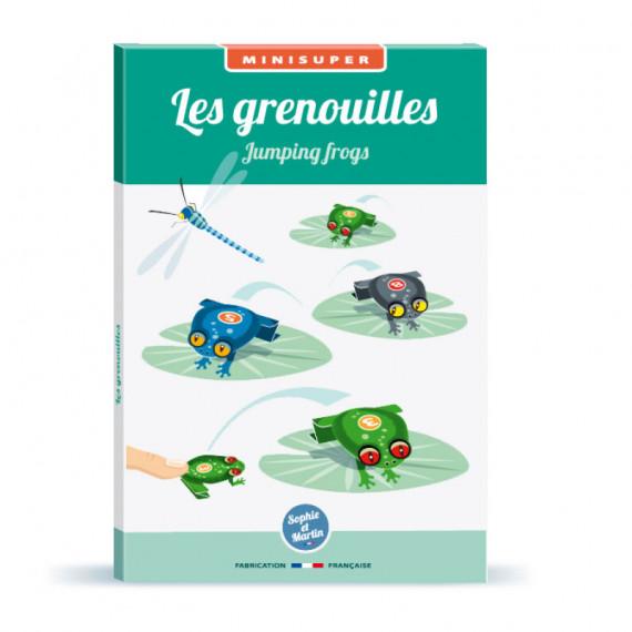 Les grenouilles sauteuses, kit minisuper 'Sophie et Martin'