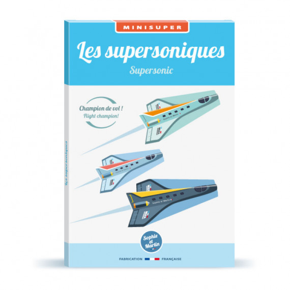 Les supersoniques, kit minisuper 'Sophie et Martin'