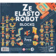 Ze Elastorobot, jeu de blocs en bois pour construire des robots DJECO 6435