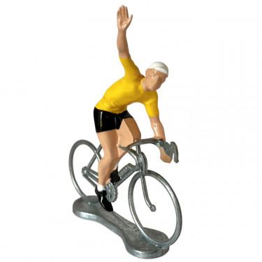 Figurine cycliste winner maillot jaune_ Bernard & Eddy